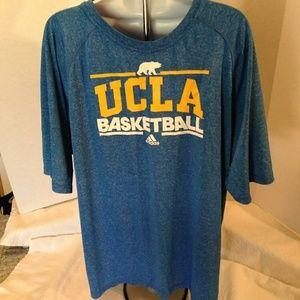 Adidas 'UCLA Basketball' Climalite Shirt - XL